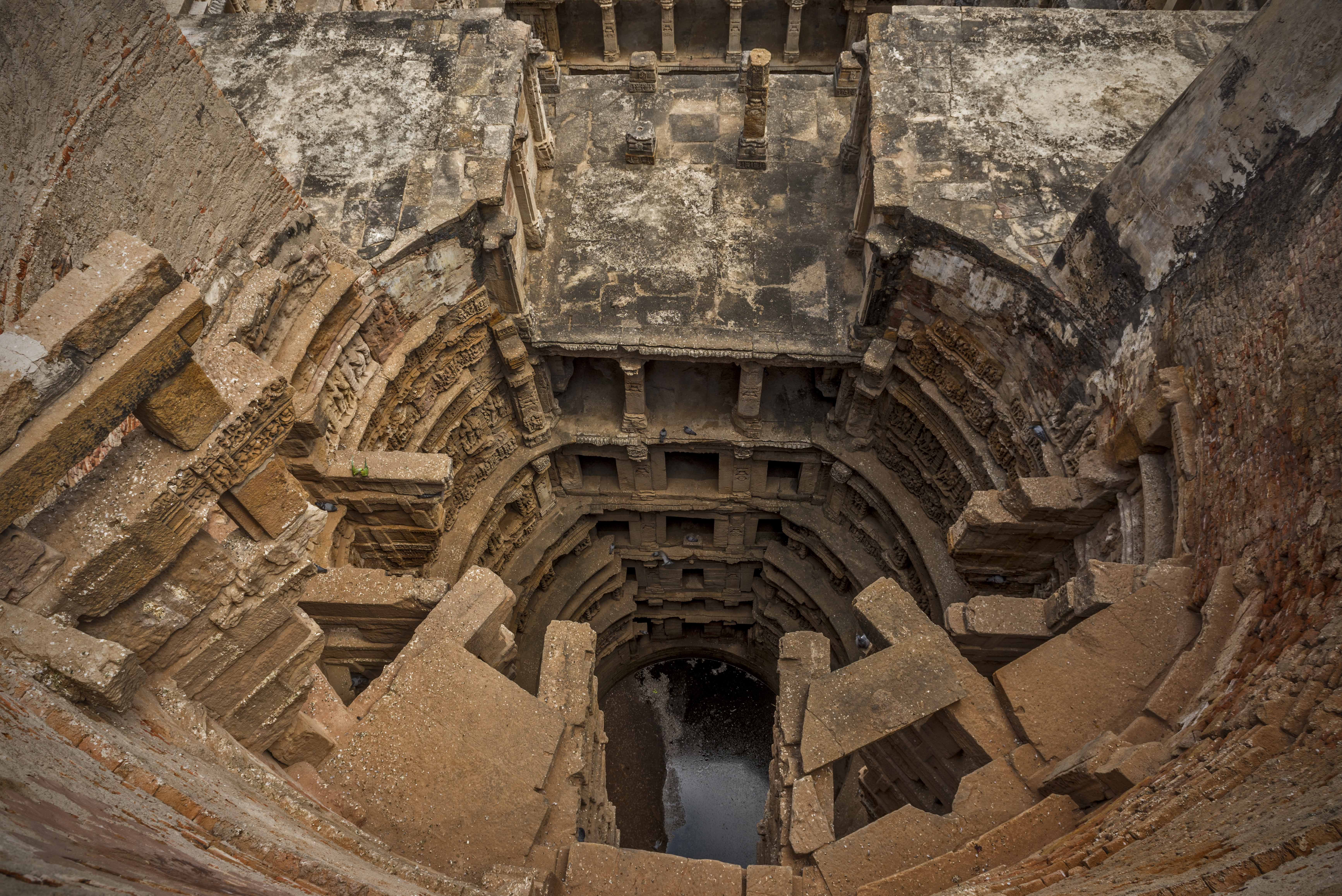 Rani - ki - Vav (Step-well) Uncover the sands of time