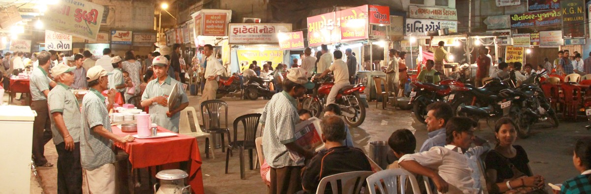 Manek Chowk Night Market